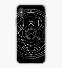 Human transmutation circle - chalk iPhone Case