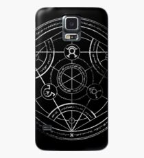 Human transmutation circle - chalk Case/Skin for Samsung Galaxy
