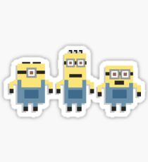 Minions Merchandise 8-Bit & Gamified T-Shirts, Mugs and much more Sticker