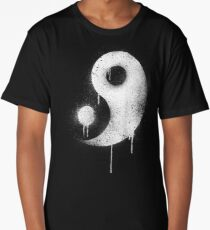 Graffiti Zen Master - Spray paint yin yang Long T-Shirt