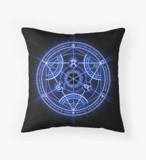 Human Transmutation Circle Throw Pillow