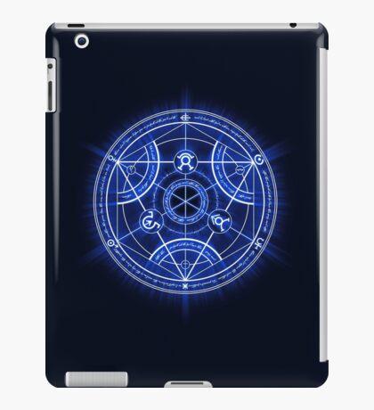 Human Transmutation Circle iPad Case/Skin