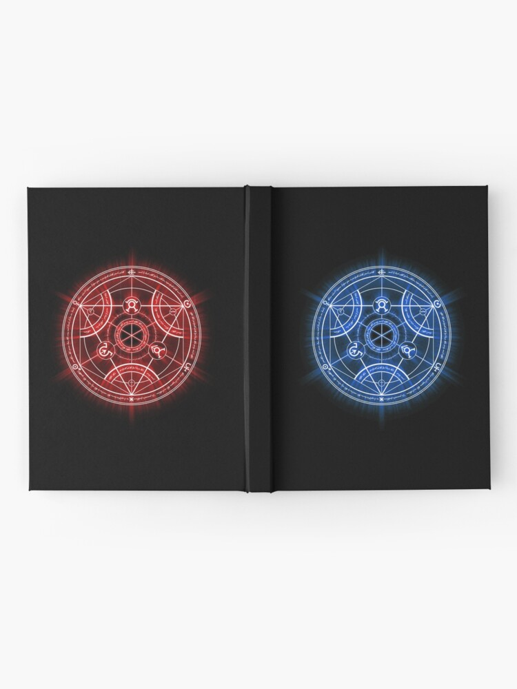 Human Transmutation Circle | Hardcover Journal