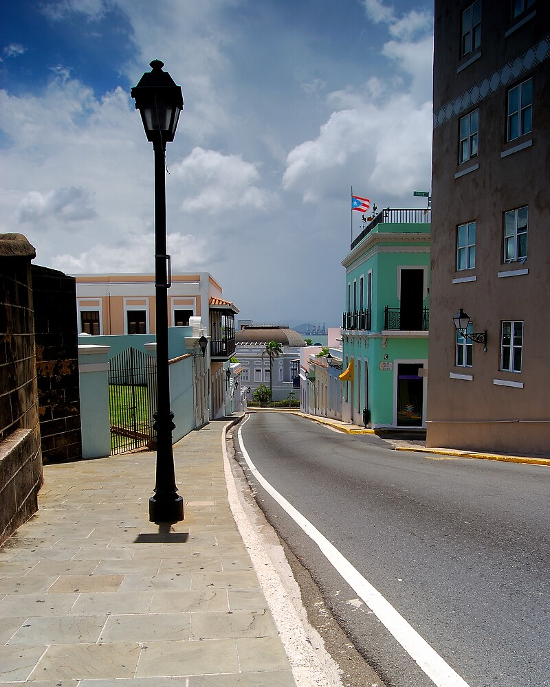 Old San Juan Streets by lightboxfactory