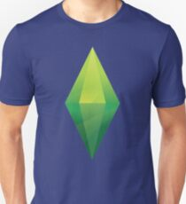 Das Sims Plumbob T-Shirt Slim Fit T-Shirt