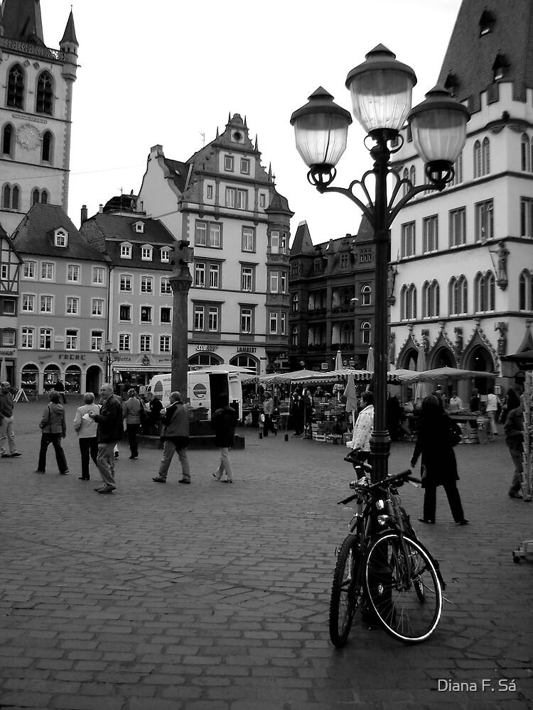 Hauptmarkt, Trier by Diana F. Sá