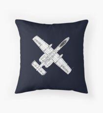 A 10 Thunderbolt Throw Pillow