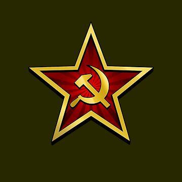Sowjetischer Goldstern von RevolutionGFX