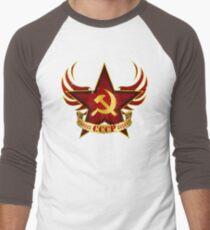 CCCP Army Men's Baseball ¾ T-Shirt