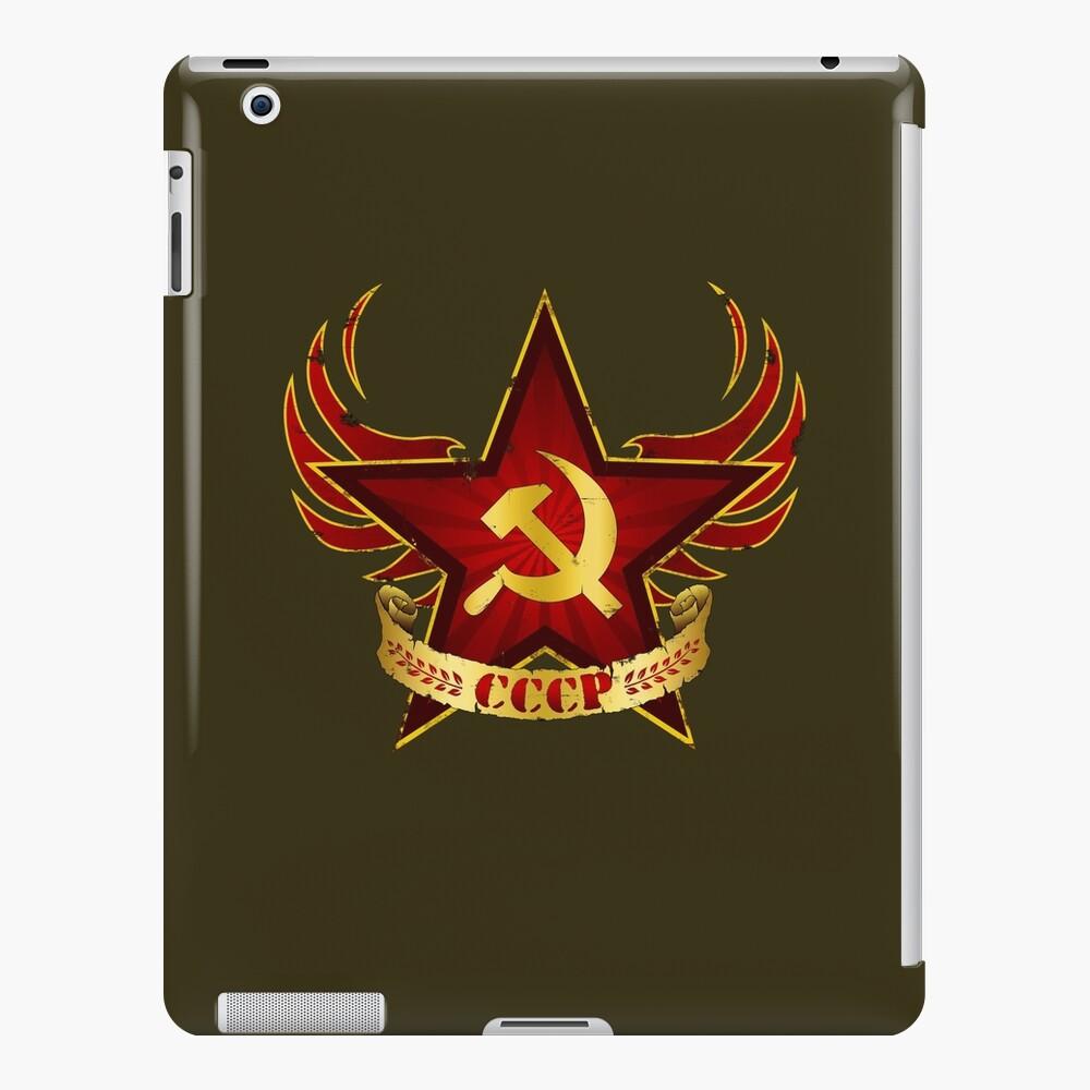 Ejército CCCP Funda y vinilo para iPad