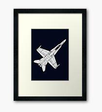 F 18 Hornet Jet Fighter Framed Print