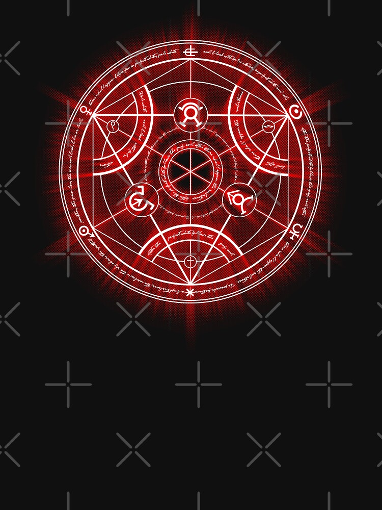 Human Transmutation Circle - Red by RevolutionGFX