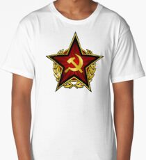 Russian Red Star Long T-Shirt