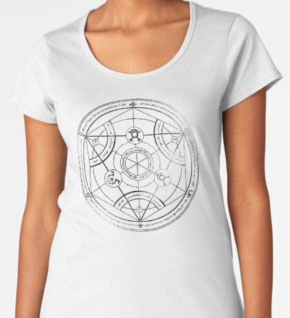 Human transmutation circle - charcoal Women's Premium T-Shirt