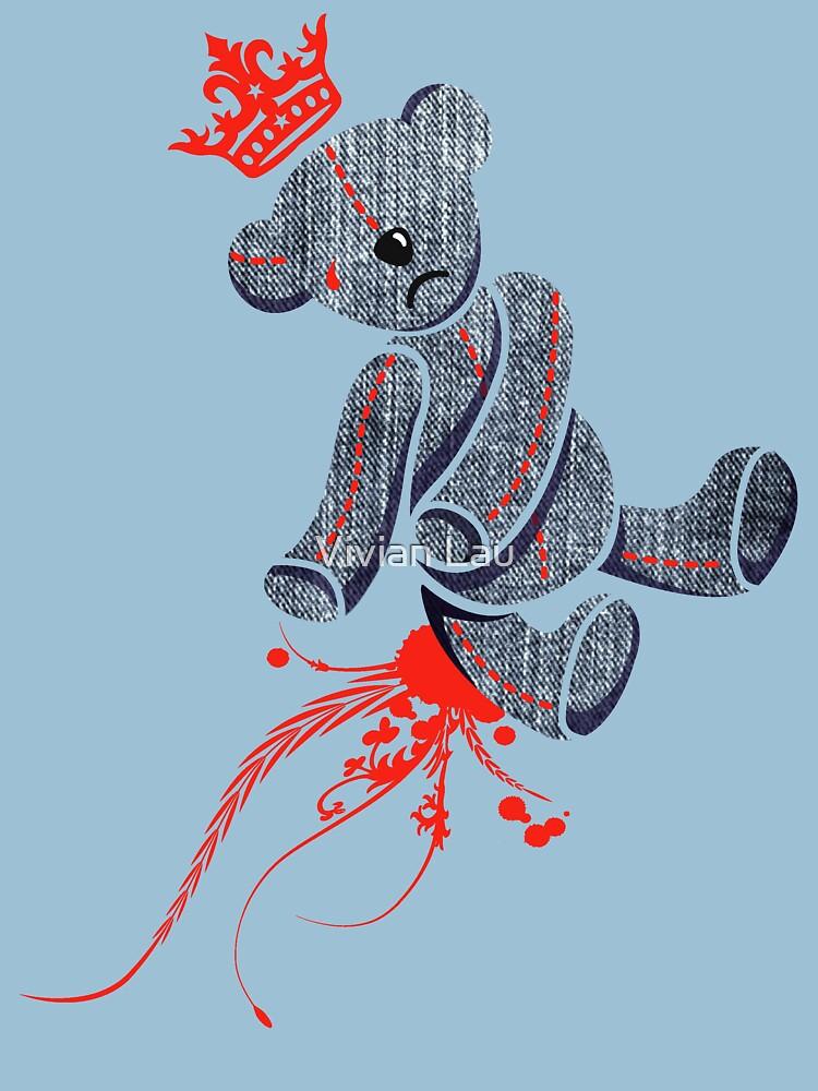 """DeadbeaR T-Shirt """"Denim"""" by VivianLau"""