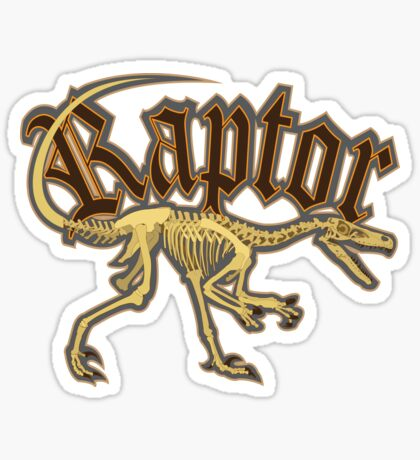 Raptor Sticker