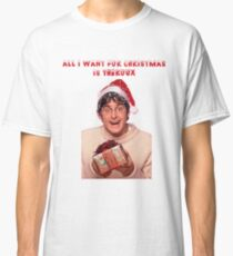 All i want for Christmas is Theroux  Classic T-Shirt