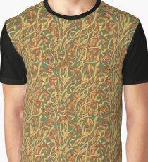 Banksia Heart (Floral Pattern) Graphic T-Shirt