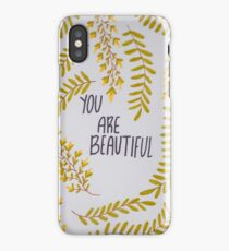 Amongst the Wildflowers iPhone Case/Skin