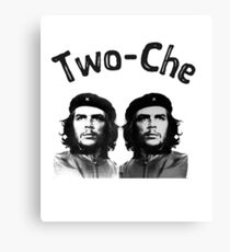 Two che funny Che Guevara two-che t shirt Canvas Print