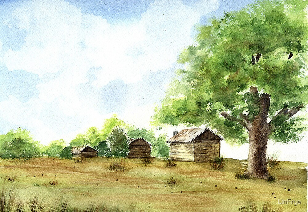 Oxford Tobacco Barns by LinFrye
