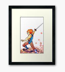 Lion-OH! Framed Print