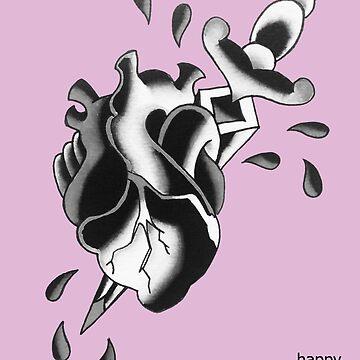 """Anatomical Heart"" Valentine by BonyHomi"
