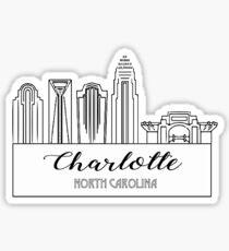Charlotte, North Carolina Sticker