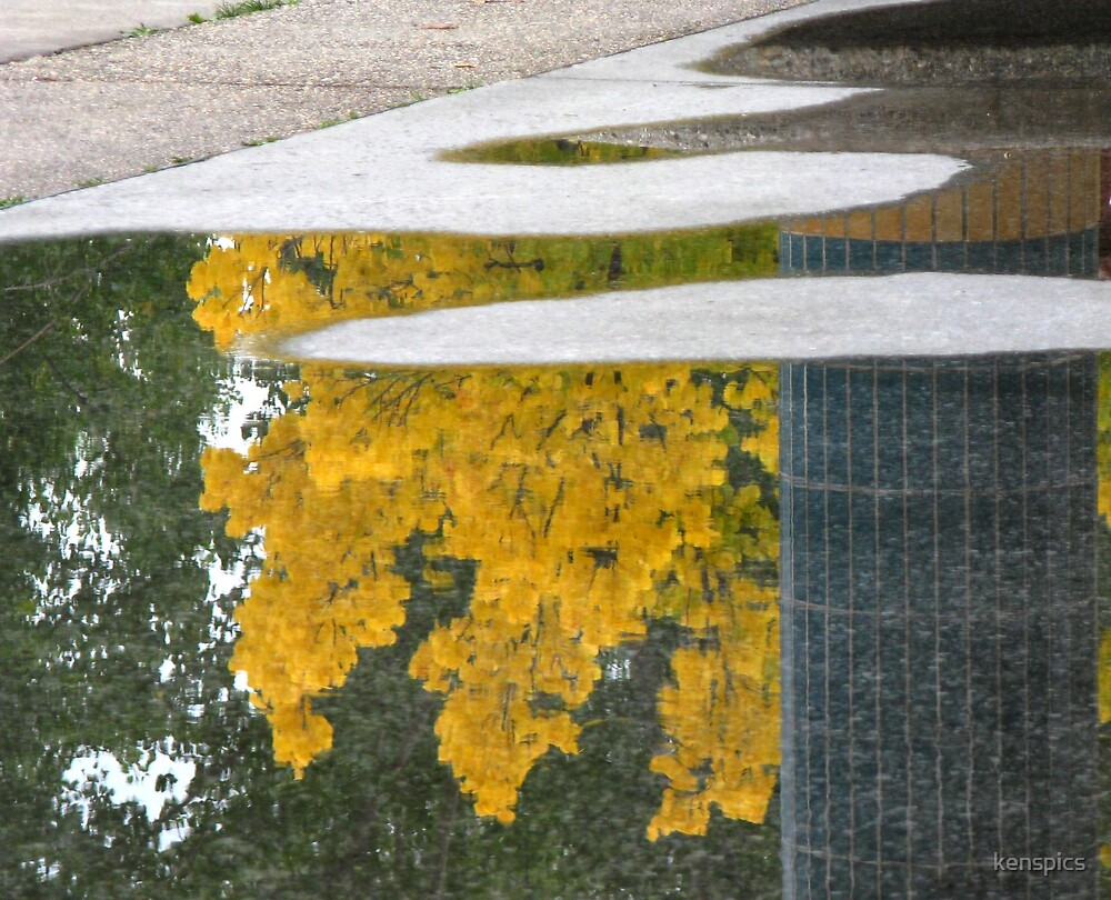 Reflections of Autumn by kenspics