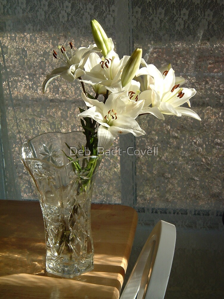 Lillies & Lace by Deb  Badt-Covell