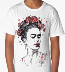 Mother Frida Kahlo Long T-Shirt