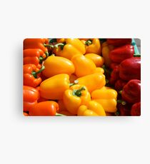 Orange, yellow and red Canvas Print