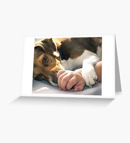 Licky Licky Greeting Card