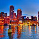 Boston Harbor by LudaNayvelt