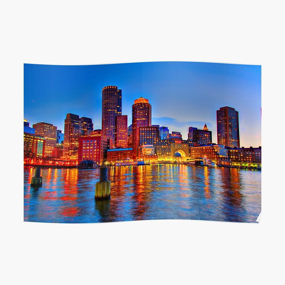 Hafen von Boston Poster