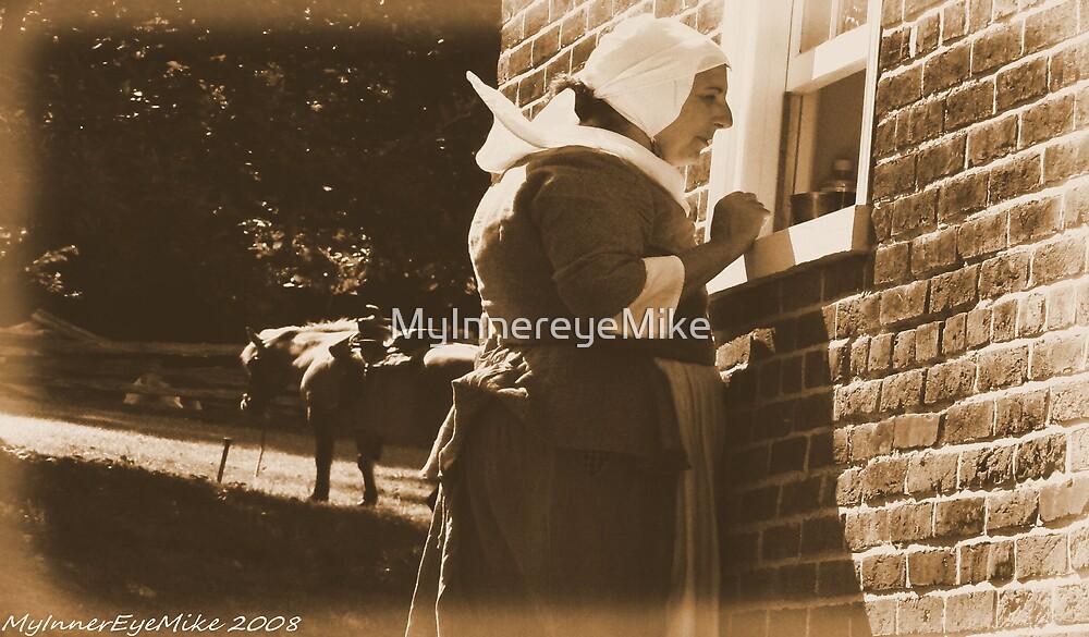 #558    Amish Woman & Pony by MyInnereyeMike