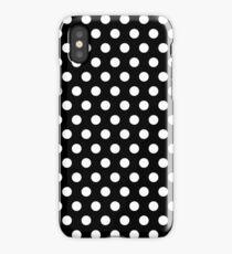 Polkadots Black and White iPhone Case/Skin