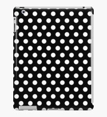 Polkadots Black and White iPad Case/Skin