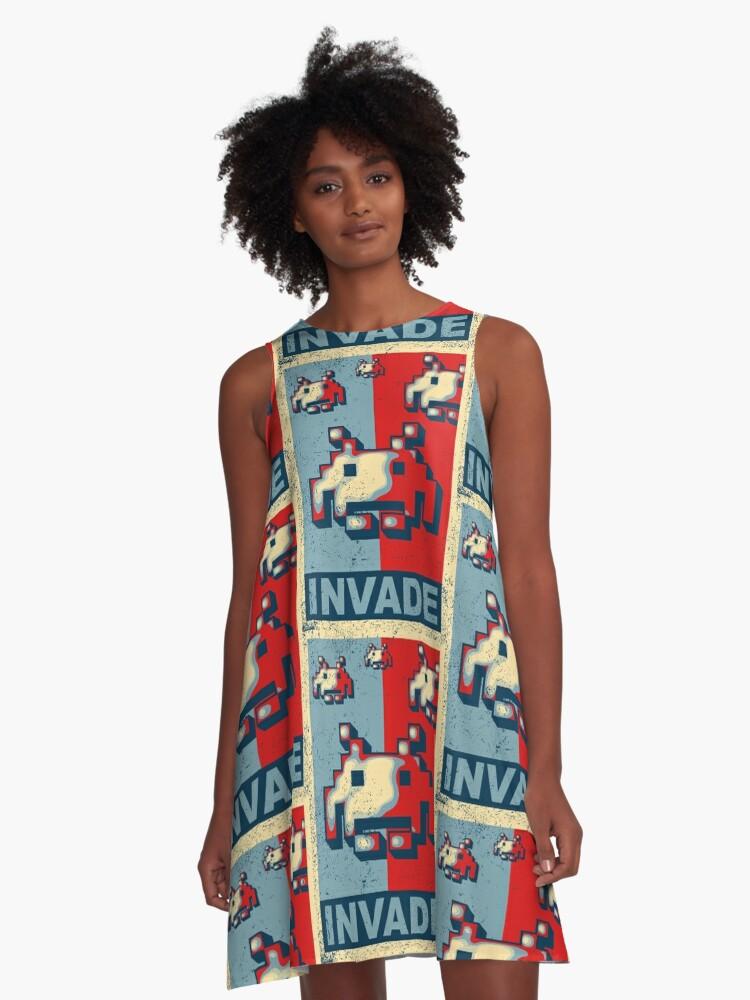 INVADE A-Line Dress Front