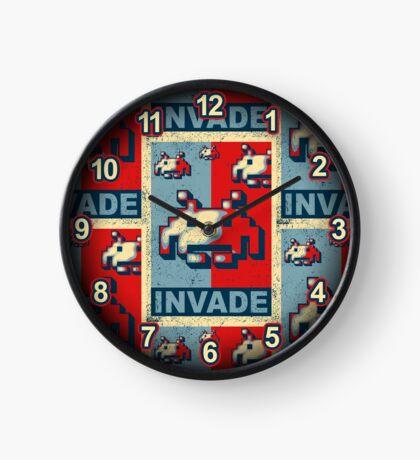 INVADE Clock