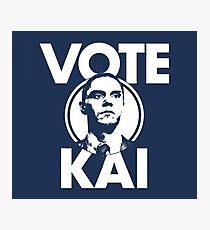 Vote Kai TV Show Series Photographic Print