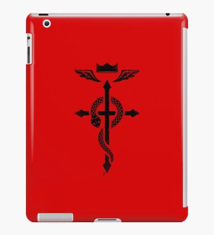 Fullmetal Alchemist Flamel - Black iPad Case/Skin