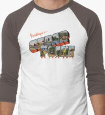 Greetings from Cedar Point on Lake Erie Men's Baseball ¾ T-Shirt