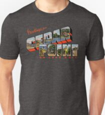 Greetings from Cedar Point on Lake Erie Unisex T-Shirt
