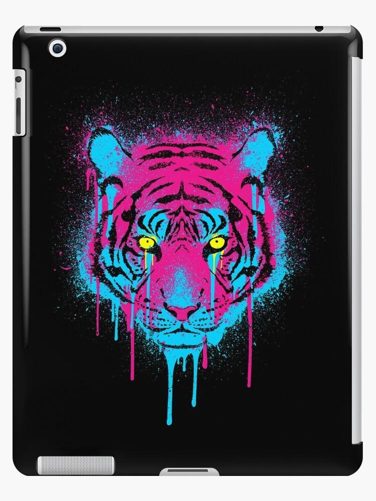 CMYK Tiger Graffiti by R-evolution GFX