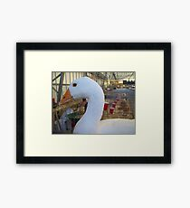 First Place Goose Framed Print