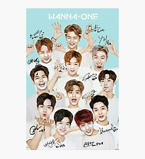 wannaone sign Photographic Print
