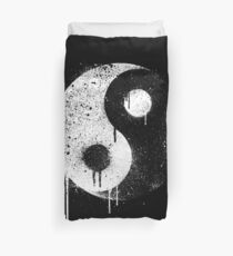 Yin Yang Spray Painted Duvet Cover