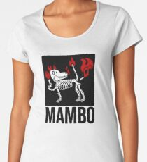 MAMBO FARTING DOG Women's Premium T-Shirt