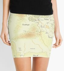 Color Map of the Sutherlands  Mini Skirt